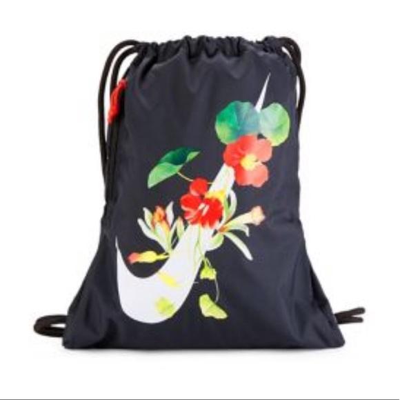 8b4662a05 Nike Bags | Heritage Printed Drawstring Bag | Poshmark